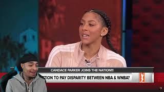 FllighReacts NBA vs WNBA: Dunks!