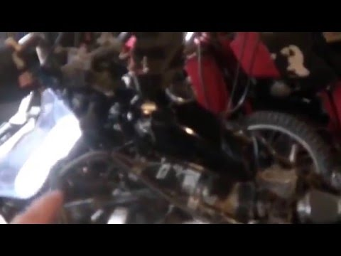 1986 honda foreman 350 4x4  wiring a key switch to hacked