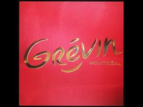 Marie visite... : Le Musee Grévin de Montréal