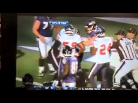 Antonio Smith Personal Fouls vs Ravens
