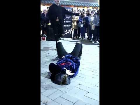 [찍캠/Fancam] 1704022 Liberty 리버티 홍대 8시 버스킹 - BTS 방탄소년단 피땀눈물 Cover