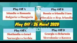 Hasil Drawing Piala Eropa 2020   DRAWING UEFA EURO 2020