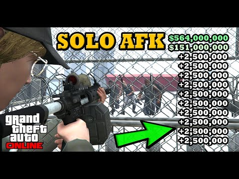 YOU DONT NEED NOTHING TO DO THIS EASY SOLO AFK *$10,000,000 & MORE* IN GTA 5 ONLINE (EASY SOLO AFK)