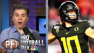 NFL Draft rumors: Giants talk to Herbert, 49ers open to trade down | Pro Football Talk | NBC Sports