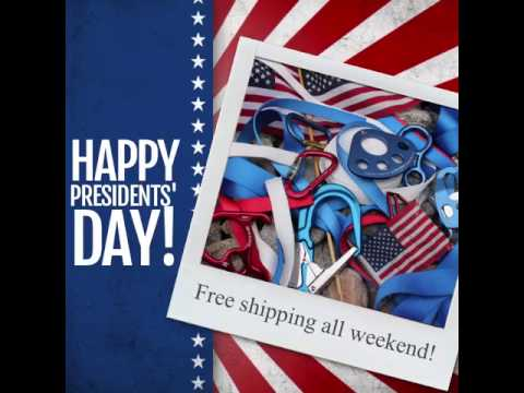 PRESIDENTS' DAY FREE SHIPPING!