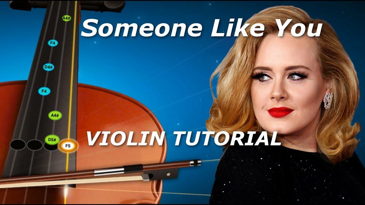 Someone like you adele violin accompaniment tutorial youtube someone like you adele violin accompaniment tutorial baditri Image collections