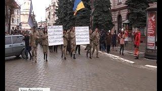 Франківськ вшанував  кіборгів  велелюдною ходою