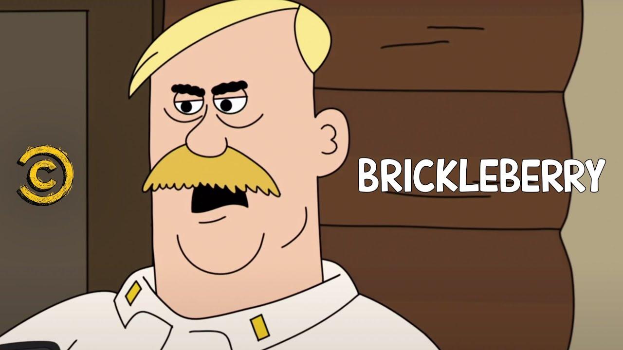 brickleberry meet woody johnson