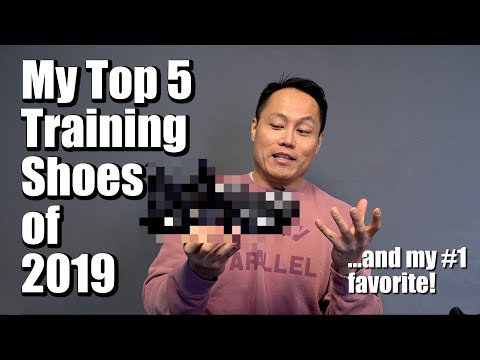 My Top 5 Training Shoes of 2019