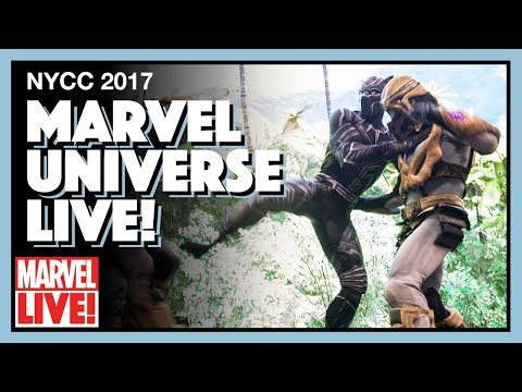 Experience Marvel Universe LIVE! at NYCC 2017
