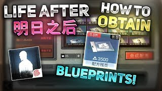 HOW TO GET RESEARCH BLUEPRINT PARTS! - LifeAfter 明日之后