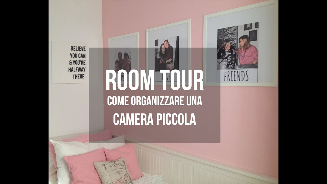 Room Tour  Organizzare Camera Piccola  Effe  YouTube