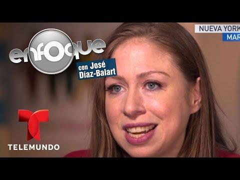 EXCLUSIVA: Chelsea Clinton habla tras primer debate | Enfoque | Noticias Telemundo