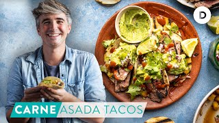 RECIPE: My BEST Carne Asada Tacos! Spicy Beef Tacos!