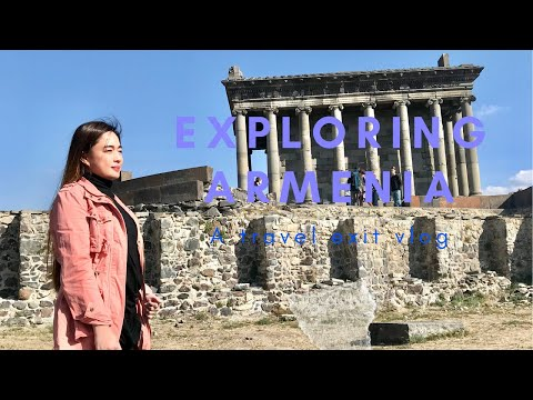 Part2 | Day Tour Armenia October2019| Geghard Monastery|Garni Temple | Lake Sevan| 💕