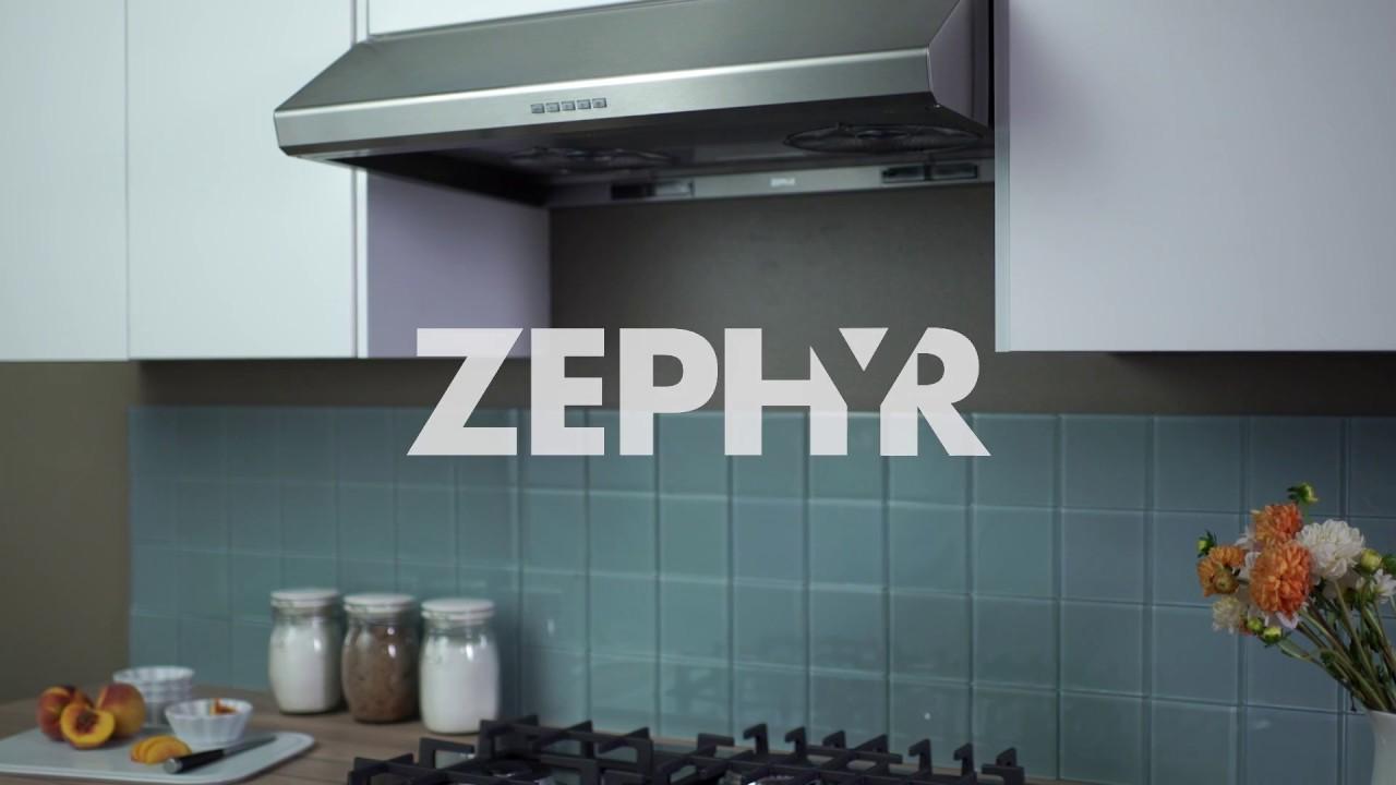 Zephyr Hurricane Under Cabinet Range Hood