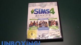 UNBOXING + INSTALLATION - DIE SIMS 4 Gaumenfreuden (Bundle Pack 3) - Tutorial