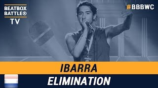 Ibarra from the Netherlands - Men Elimination - 5th Beatbox Battle World Championship