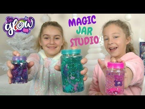 SO GLOW Magic Jar Studio !!