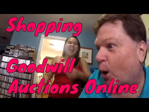 Trying Shop Goodwill Online Auctions