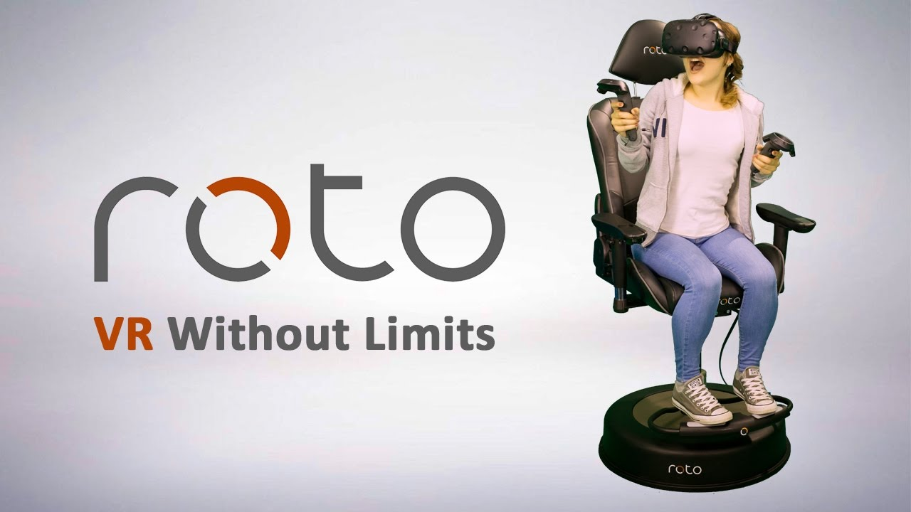 Roto VR Chair - launch trailer
