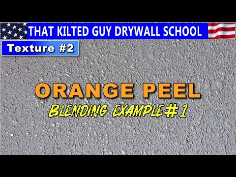 Match Orange Peel Drywall Texture PERFECTLY.  I'll Reveal My Secrets To You