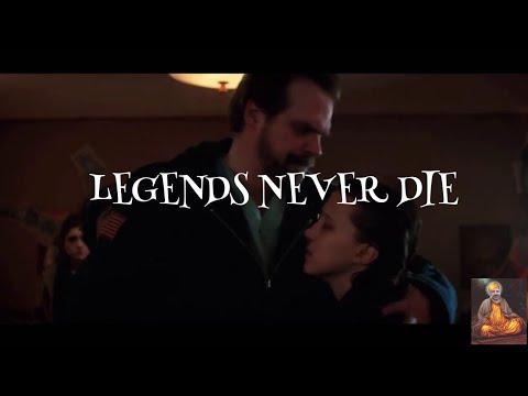 Jim hopper-legends never die -tribute-stranger things