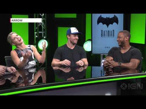Arrow Cast/OTA Interview (IGN SDCC 2016)