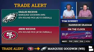 Marquise Goodwin Traded From San Francisco 49ers to Philadelphia Eagles - Reaction, Grade & Analysis