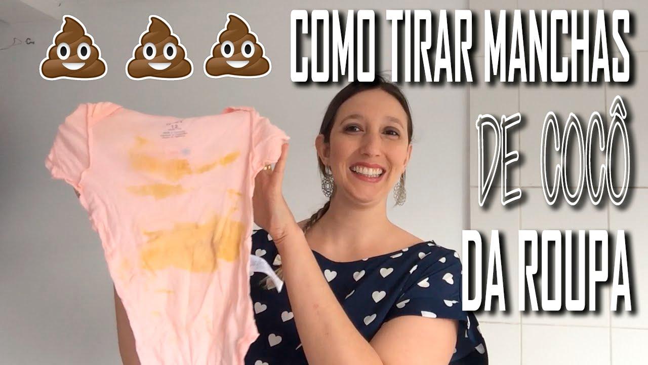 ebabd35cf Como tirar mancha de cocô da roupa do bebê - Amada Amanda - YouTube