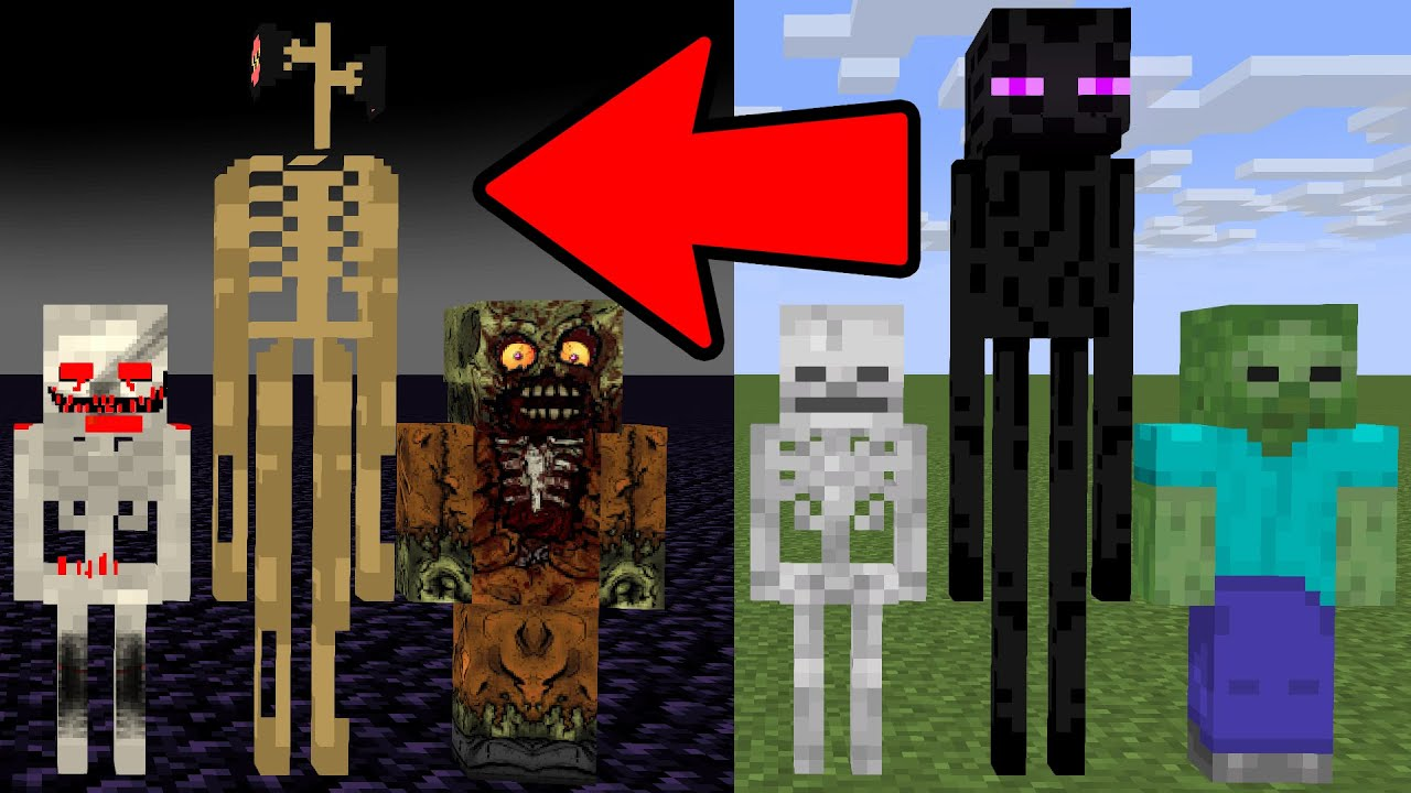 Download Monster School : MONSTERS BREWING TO HORROR   - minecraft animation