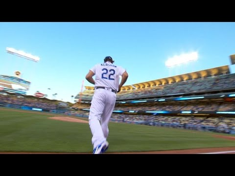 COL@LAD: Kershaw's 10 strikeouts in 10 seconds