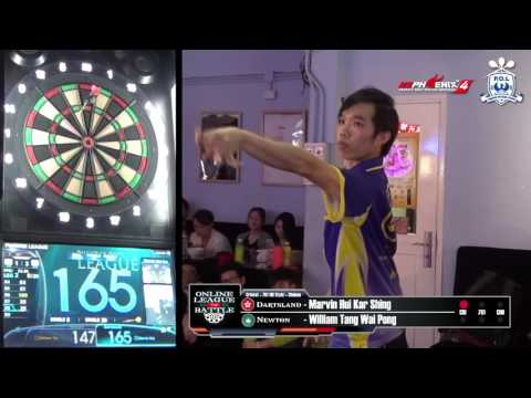 Online League Battle - Dartsland (HK) VS Newton (MO) Game 5
