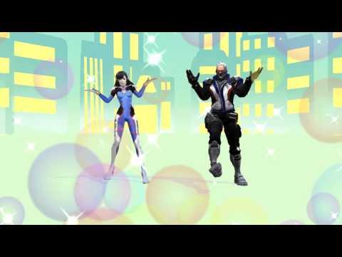 [Overwatch MMD] D.VA 76 - Drop Pop Candy