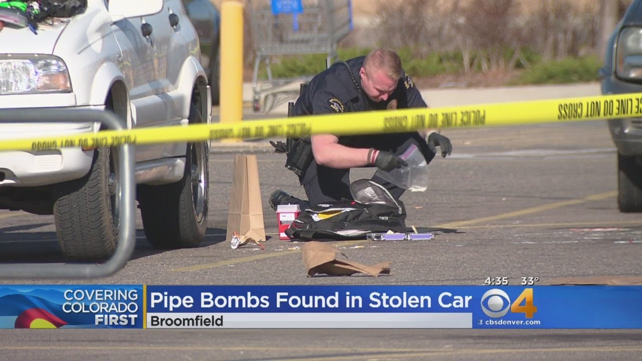 3 In Custody After Pipe Bombs Found In Stolen Car
