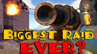 Biggest Raid in Rust History? (Raid Cam) thumbnail
