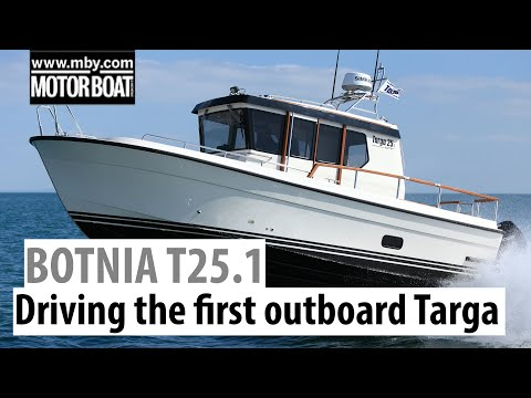Botnia Targa 25.1 Review   Driving The First Botnia Targa With Outboards   Motor Boat & Yachting
