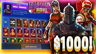 TO LOCKER ΜΟΥ+ΤΑ SETTINGS MOU+GALAXY SKIN+ SEASON 2 SKINS{FORTNITE BATTLE ROYALE GREEK}