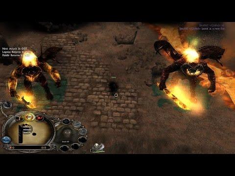 RotWK Custom Map #2: Gladiator Underworld Return of Morgoth