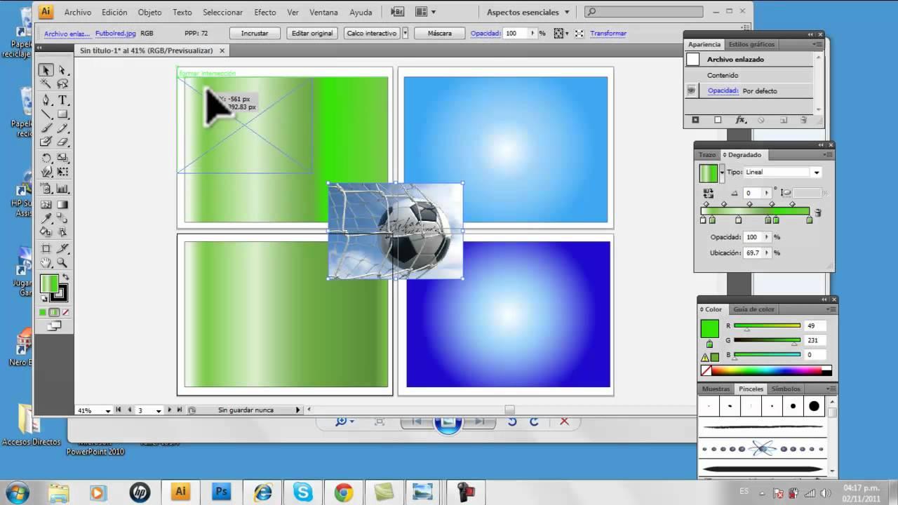 Como realizar etiquetas en Adobe Illustrator - YouTube