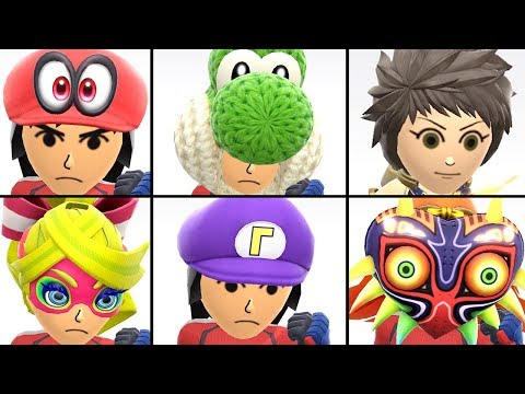 all mii costumes smash ultimate unlock
