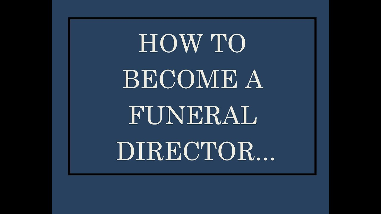 why become a funeral director Licensing requirements vary by state and can also be different for embalmers  and funeral directors we've compiled information by state to help you get started.
