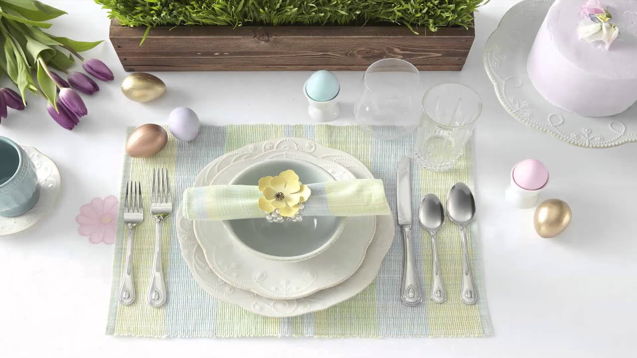 How To Build an Egg-cellent Easter Tablescape