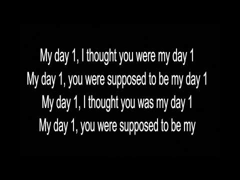 A Boogie Wit Da Hoodie - My Day One Lyrics