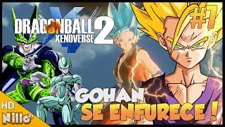 DRAGON BALL XENOVERSE 2, #7 Cell o Androide Perfeito/ Gohan se Enfurece/ Meta Coolers - Nillo21.
