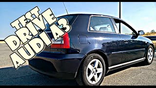 Test Drive Audi A3 1.6 100cv Año 2003