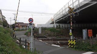 2020.10.4 南武線「本宿原踏切」 東京メトロ18000系甲種輸送 Nambu Line Honjukuhara railroad crossing