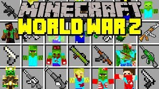 Minecraft WORLD WAR Z MOD | SURVIVE THE ZOMBIE APOCALYPSE! | Modded Mini-Game