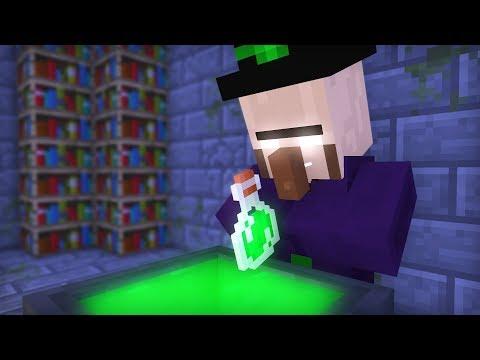 Witch & Villager Life VIII - Minecraft Animation