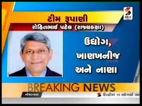Gujarat Chief Minister Vijay Rupani's Team Of Ministers